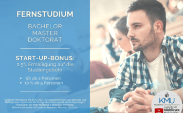 START-UP-BONUS: fernstudium.co.at KMU Akademie | Middlesex University