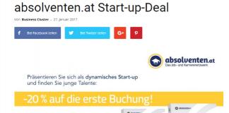 Start-up-Deal Beispiel 1
