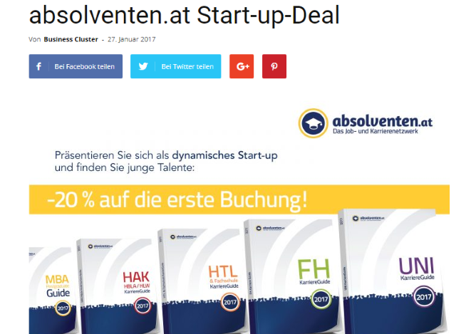 Start-up-Deal Beispiel 1