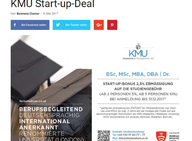 Start-up-Deal – Beispiel 2