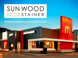 sun wood by stainer erhält großauftrg für mcdonald's kanada