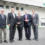 Eröffnung der neuen Produktionshalle von Schneider Electric pDrives in Wien Floridsdorf