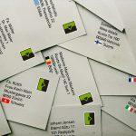 Briefversand ins westliche Europa wird günstiger. Der Onlineversanddienst Postserver senkt das Auslands-Briefporto.