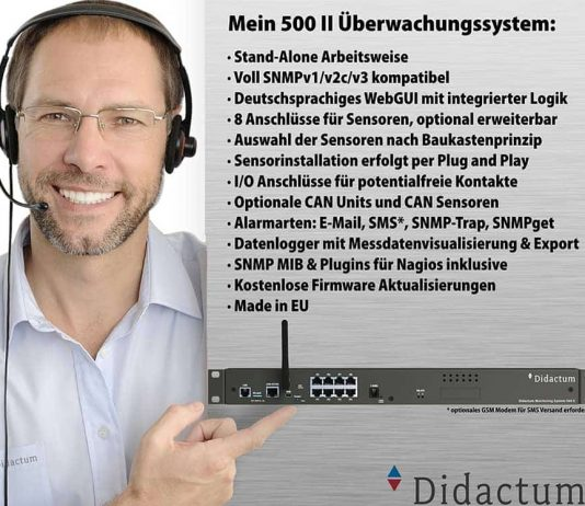 Didactum IT Monitoring System 500