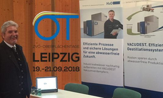 Spülwasser nachhaltig aufbereiten mit Vakuumdestillationssystemen von H2O GmbH.