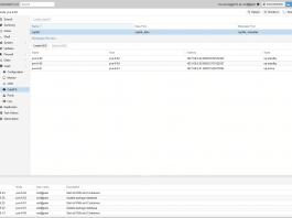 Screenshot von Proxmox VE 5.3 mit CephFS