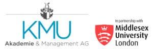 Logo KMU Akademie | Middlesex University