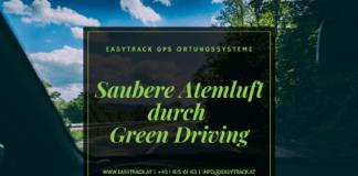Saubere Atemluft durch Green Driving